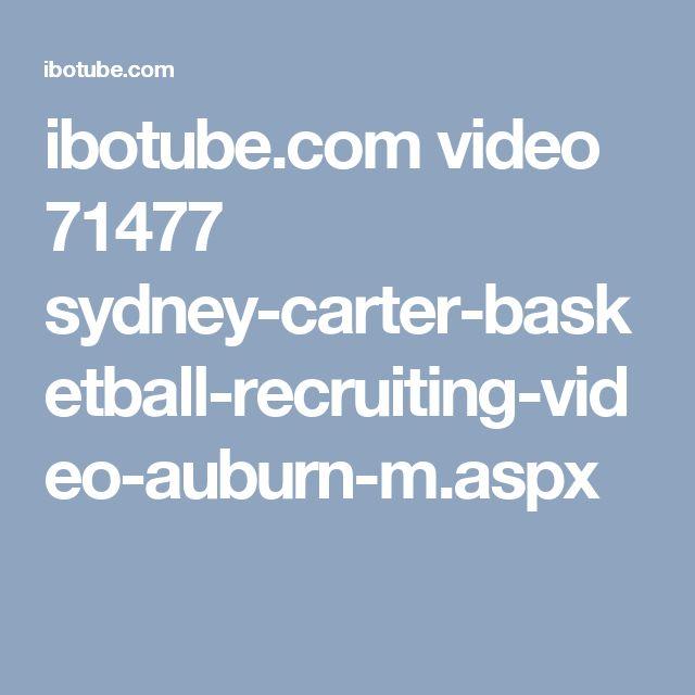 ibotube.com video 71477 sydney-carter-basketball-recruiting-video-auburn-m.aspx