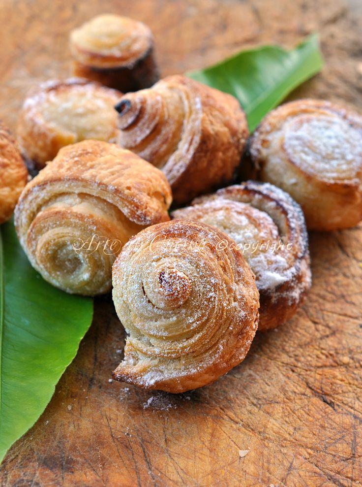 Girelle caramellate al limone ricetta dolce veloce arte in cucina