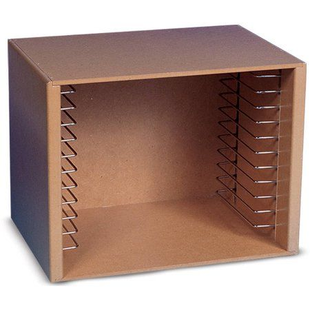 Melissa and Doug Puzzle Storage Case for 12 Puzzles, Natural Wood - Walmart.com