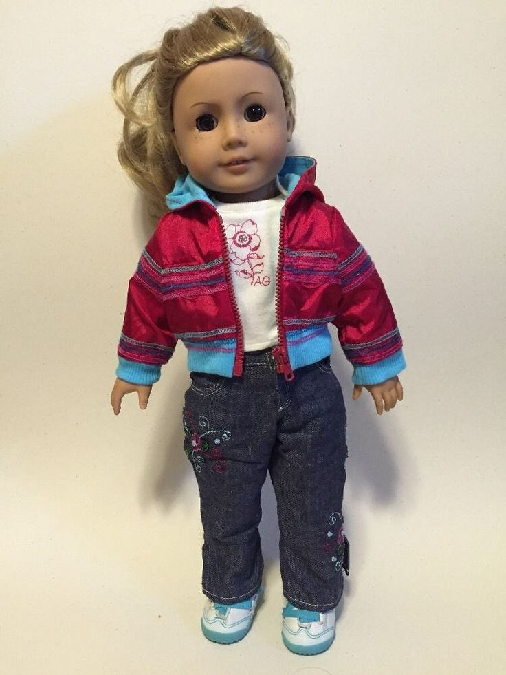 AGOT #24 AMERICAN GIRL 2004 FRECKLES SANDY BLONDE HAIR LIGHT BROWN EYES F8896 #AmericanGirl #DollswithClothingAccessories