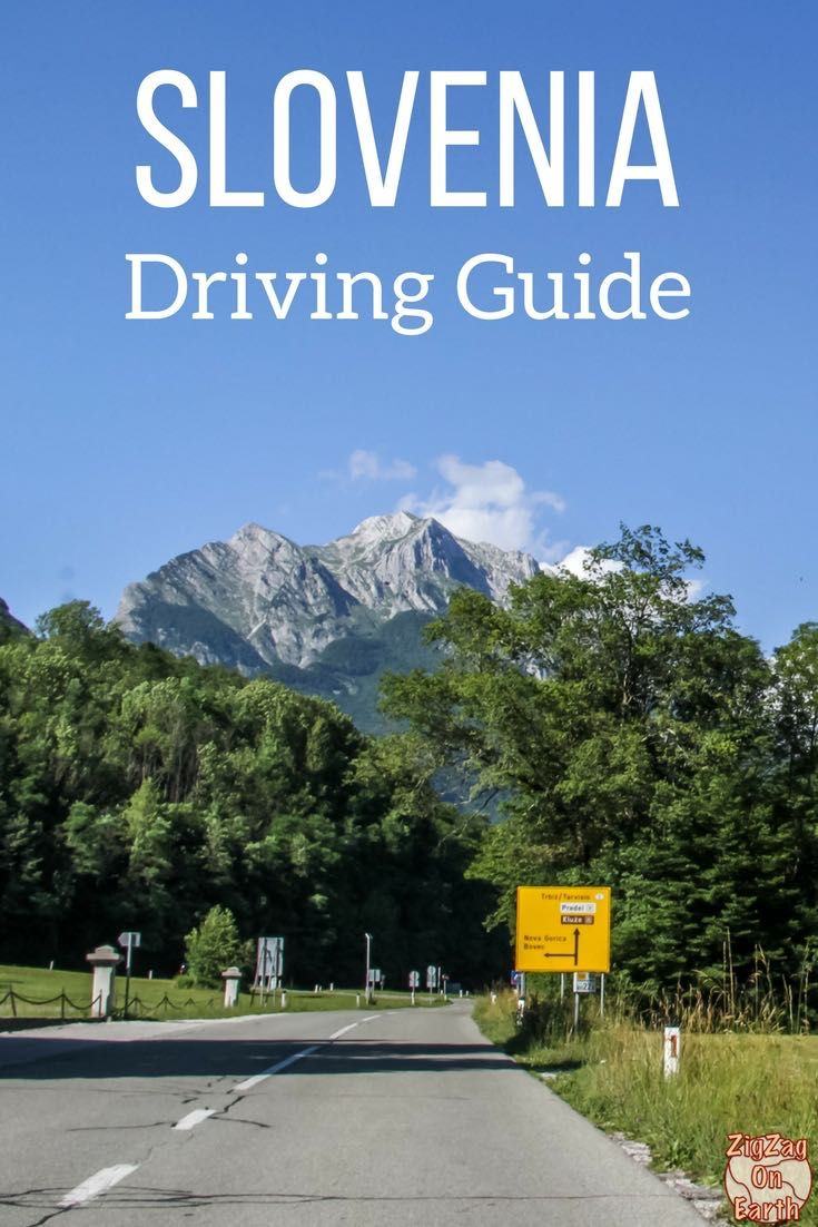Slovenia Travel Guide - Driving information: Rules, speed limit, road signs, road conditions... | #slovenia #Ifeelslovenia | Slovenia Road Trip | Slovenia itinerary