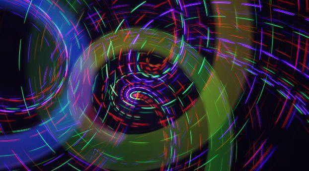 Rays Rotation Light Abstract Wallpaper Pinterest Wallpaper