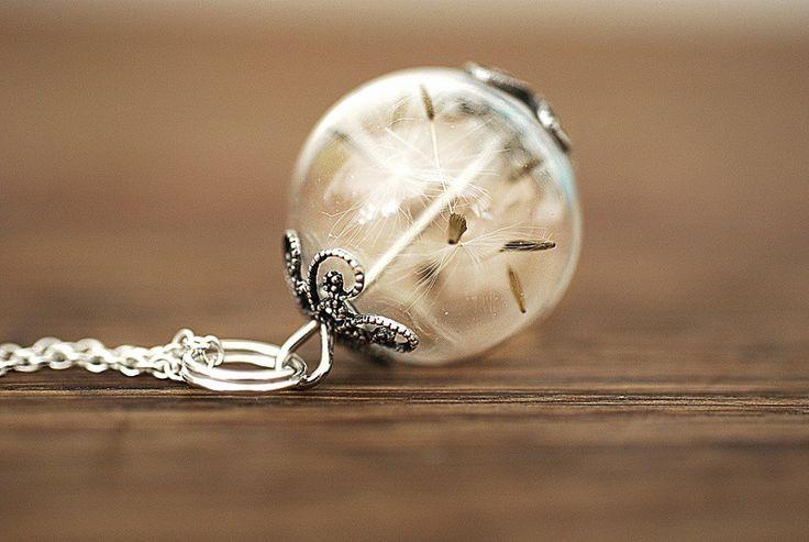 925er Silber Echte Pusteblumen Kette |MadamLili