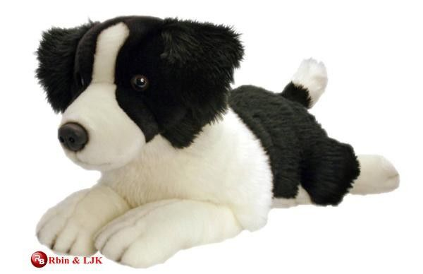 customized OEM design plush border collie #Border Collie, #For Sale