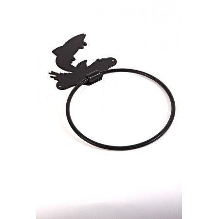 """Splash"" Leaping Fish Towel Ring - £19.99"