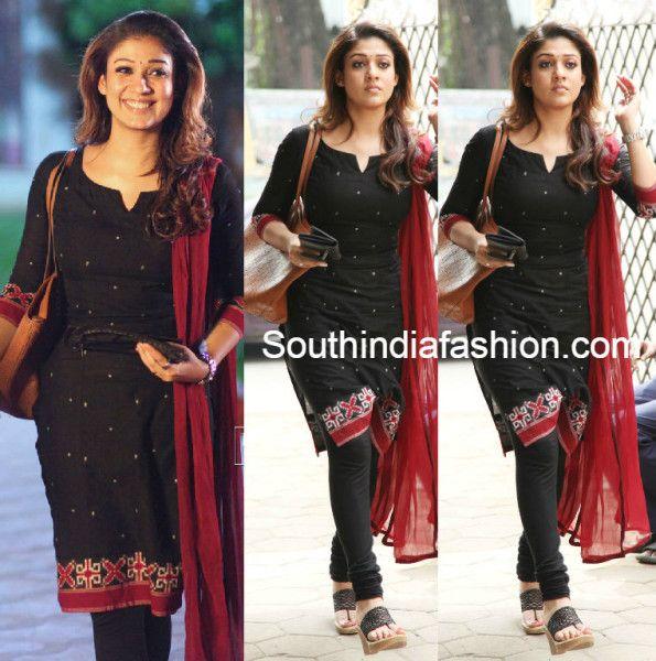 Nayanthara in Black Salwar | Nayantara | Fashion, India ...