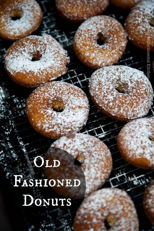 Old Fashioned Donuts | CarriesExperimentalKitchen.com  #dessert #vegetarian