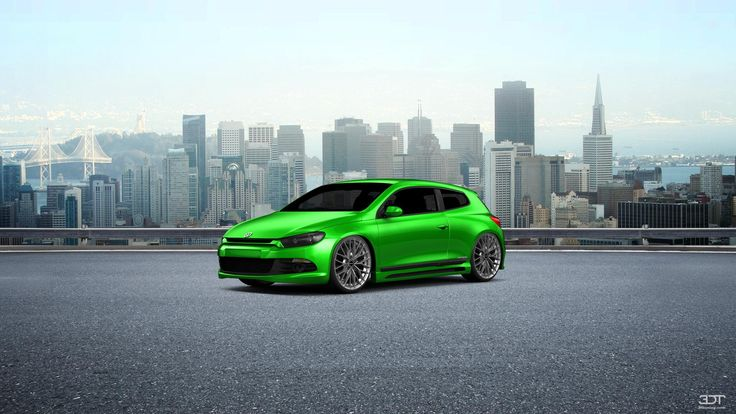 Checkout my tuning #Volkswagen #SciroccoR 2010 at 3DTuning #3dtuning #tuning