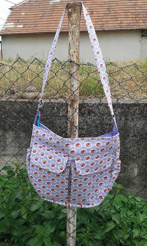 lienka97 / Trendy maxi taška vo fialovom-ukážka