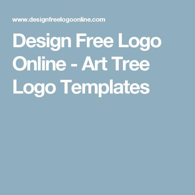 Design Free Logo Online - Art Tree Logo Templates