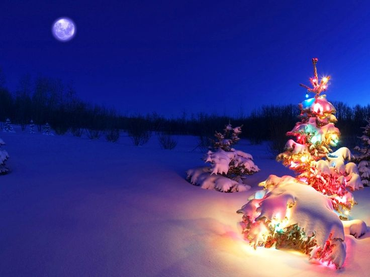 3D Christmas Desktop Backgrounds: