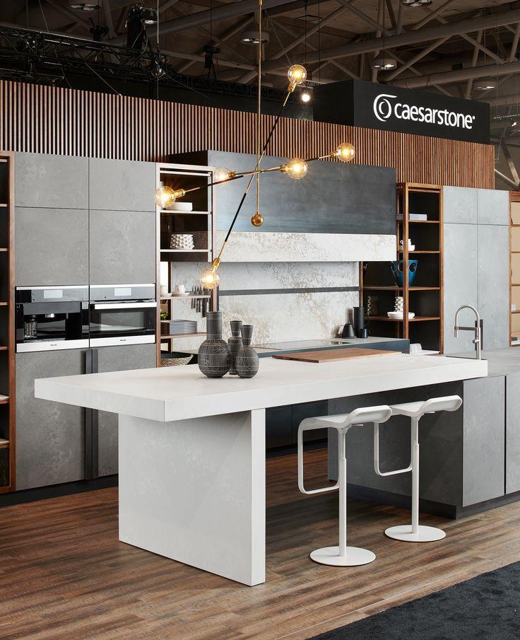 Kitchen Cabinet Showrooms: Island 4011 Cloudburst Concrete In 2019