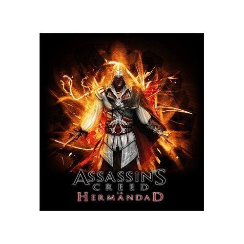 camiseta Assassins Creed la Hermandad (Talla: Talla L Unisex Ancho/Largo [56cm/74cm] Aprox]) #regalo #arte #geek #camiseta
