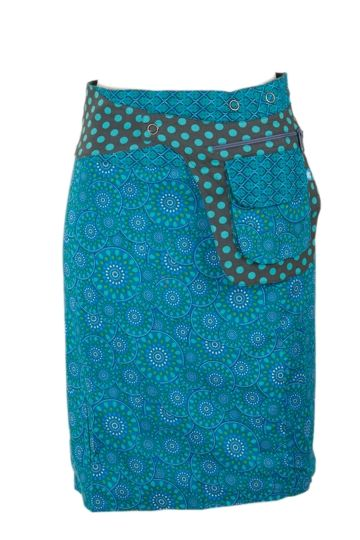 Boom Shankar 50s dresses Rosanna Reversible Long Skirt - Womens Knee Length Skirts - Birdsnest Online Fashion