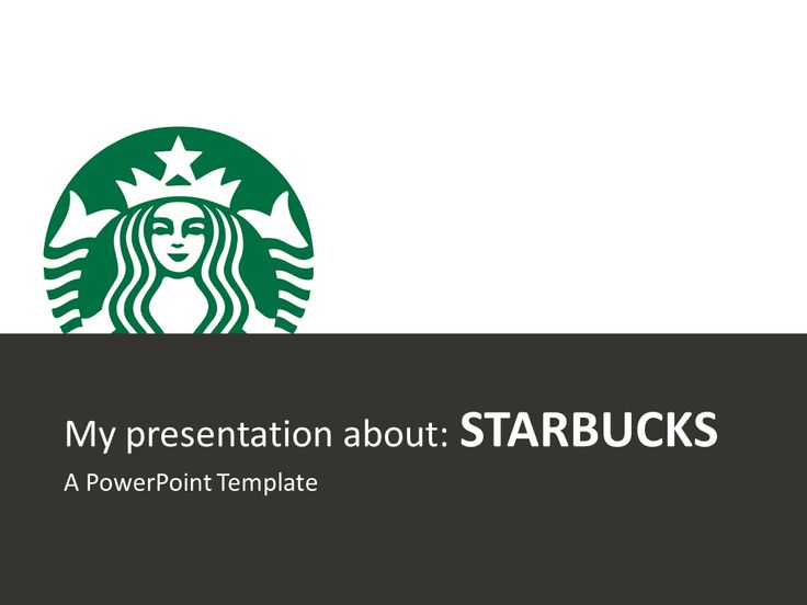 Starbucks Free PowerPoint Template