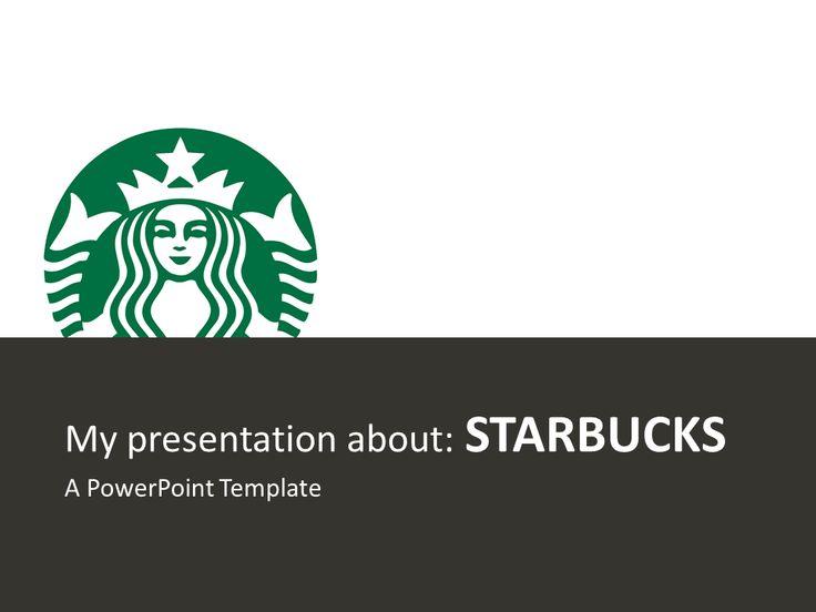 Starbucks Free PowerPoint Template