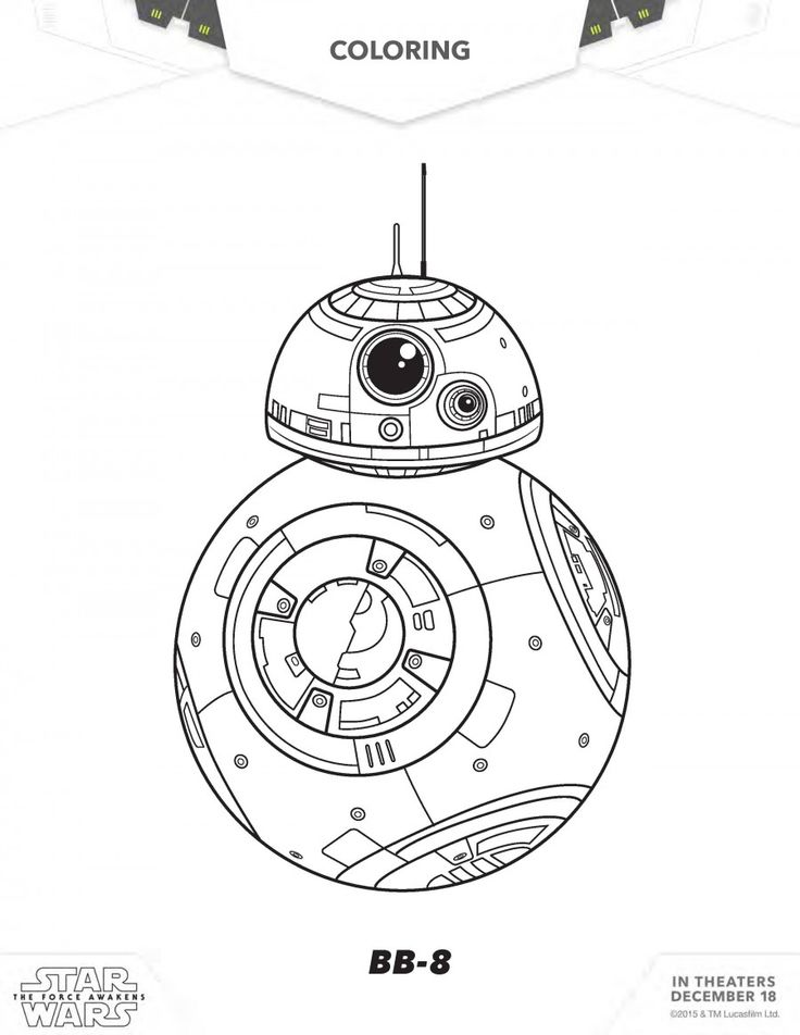 Star Wars Coloring Page Great For Kids Or Adults Of All Ages Any Fan Book