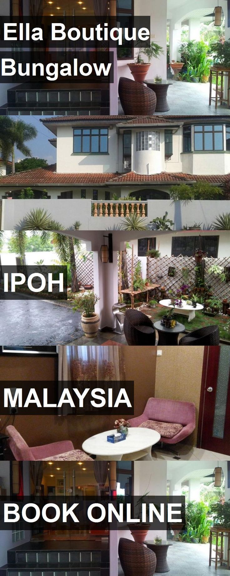 Hotel Ella Boutique Bungalow in Ipoh, Malaysia. For more information, photos, reviews and best prices please follow the link. #Malaysia #Ipoh #travel #vacation #hotel