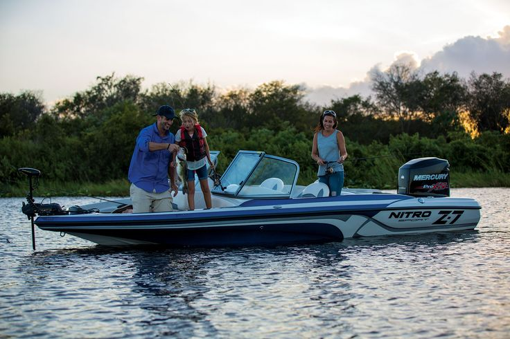 Nitro Z-7 Sport Fiberglass Fish and Ski Boat Available through Springfield Tracker Boat Center Contact Spencer Helms or Richard Mosher Tracker Boating Center Springfield, MO Office 417-891-5281