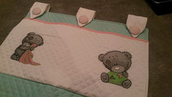 Per un fasciatoio ben organizzato! For a changing table well organized!!  #baby #nursery #teddybear