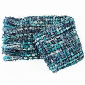 Toronto Marine Wool Blend Throw