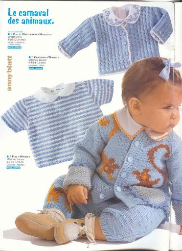 Sweatshirt and Cardigan Set free knit pattern