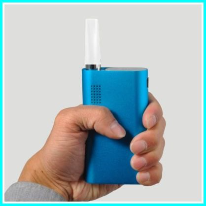 The flower mate herbal portable vaporizer allows you to vaporize anywhere all day without recharging.