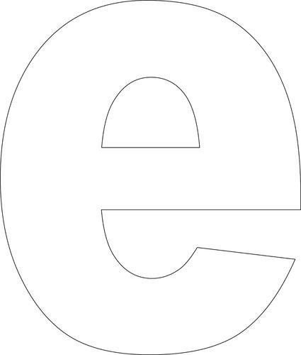 Free Printable Lower Case Alphabet Template | Alphabet ...