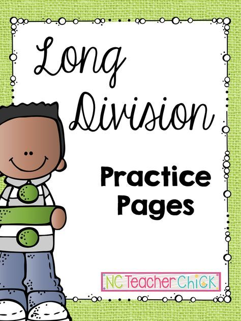 1000+ ideas about Long Division on Pinterest   Teaching long ...
