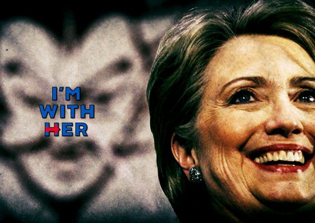 THE HILLARY AND LUCIFER CONNECTION: In college, one of Hillary Clinton's heros was Saul Alinsky, who dedicated his book on anarchy to Lucifer. The name of that book was Rules For Radicals, and it has been Obama's bible for the past 8 years. Do you really want four more years of Lucifer running the country? http://www.nowtheendbegins.com/hillary-clintons-hero-mentor-wrote-book-admiringly-dedicated-lucifer/