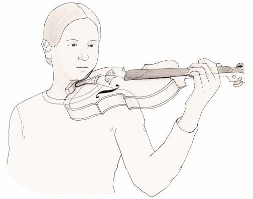 how to hold a violin bow youtube