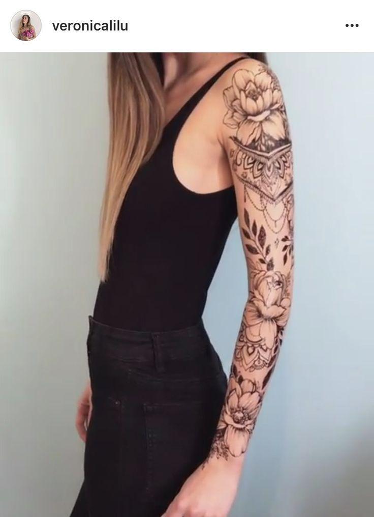 Oberarm tattoo frau am Tätowierungen: Die