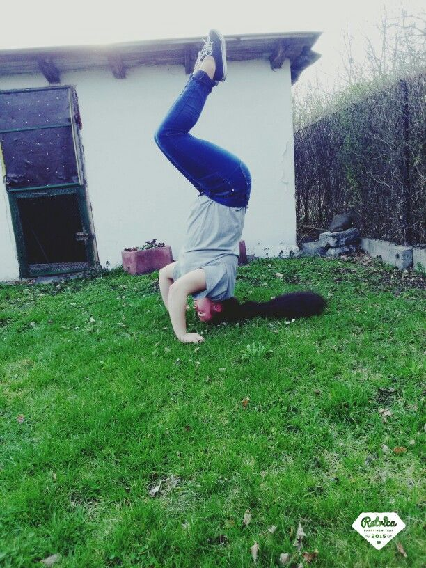 Headstand !