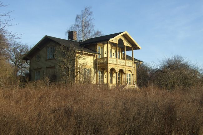 Villa Eolslund Schweizerstil, djurgården