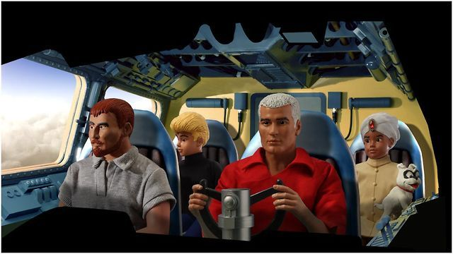 Anyone remember (the original) Jonny Quest? This guy recreated the entire opening sequence in in stop-motion! Awesome!