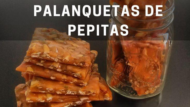 Como hacer Palanquetas de Pepita caseras | Como hacer palanquetas sin te...