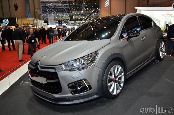 Citroen DS4 Racing and all the news from Citroen in Geneva
