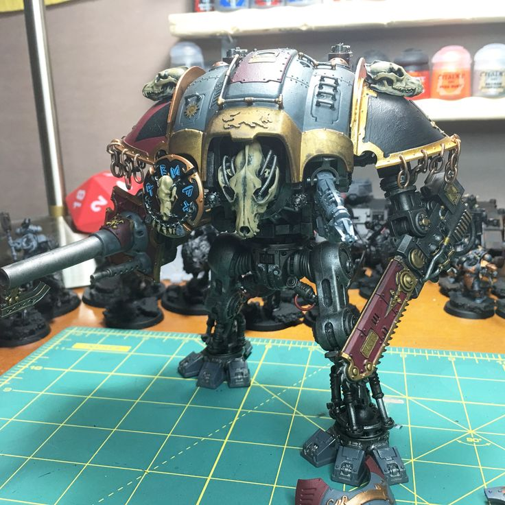 Warhammer 40k Space Wolf allied Imperial Knight