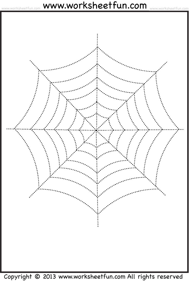 Halloween tracing and coloring