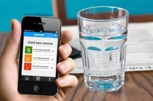 Kraanwater in horeca? Daar is een handige app voor. Beloon een ondernemer die het goed doet meteen, of laat een ondernemer meteen weten dat je zijn kraanwaterbeleid niet ok vindt. Gratis te downloaden voor Android en iPhones.