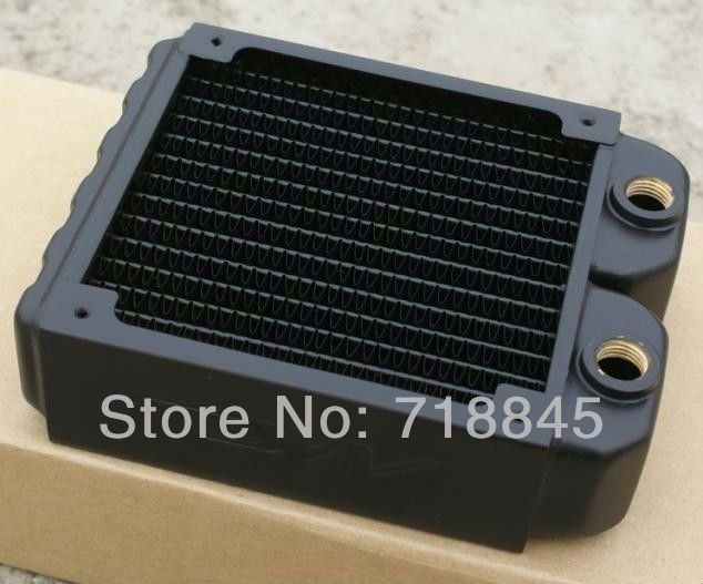 Computer Water Cooling Radiator 240d Water Discharge Pure Copper