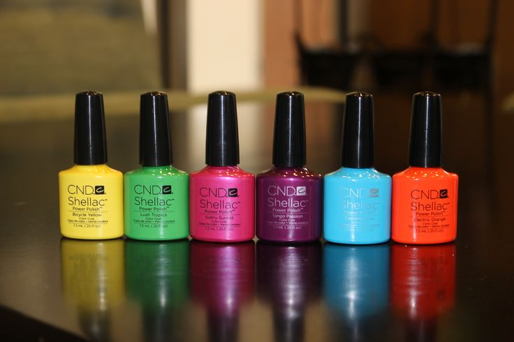 Spring Paradise collection by CND Shellac.