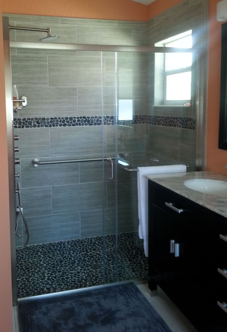 Shower Floor Tiles Which Why And How: Best 25+ Pebble Tile Shower Ideas On Pinterest