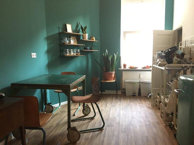 """""""Vorher / Nachher - die Küche steht bereit für s Cover Shooting meines Buches"""" - Milena Glimbovski"""