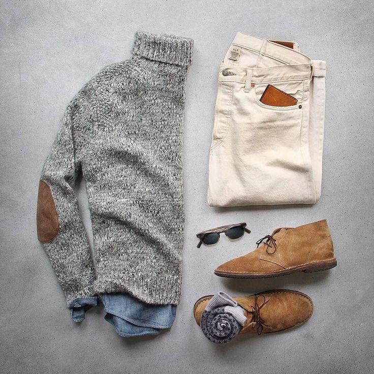 #StyleGrid @thepacman82 #menslook #menwithstyle #MensSweater: #jcrew Alpaca…