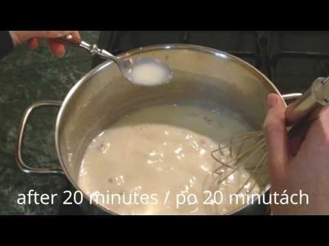 Domaci kondensovane mleko/ Salko - YouTube