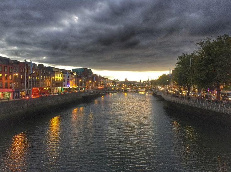 Dublin by dusk