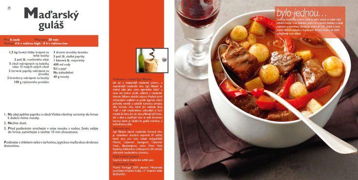 Maďarský guláš recept, Tefal Mijotcook SD5000