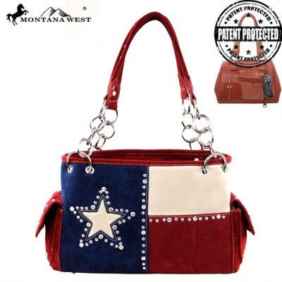 Texas Lovers Concealed Carry Purse