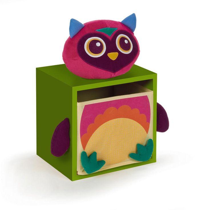 Opruimen wordt gewoon leuk met dit houten ladekastje van Oops! Het vrolijke dier maakt elke kamer levendig én opgeruimd! Gebruik de lade voor het opbergen van speelgoed of andere kleine spulletjes. Dit dier staat gezellig op je bureau of op de grond!